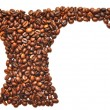 Turk made of coffee — Stock Photo