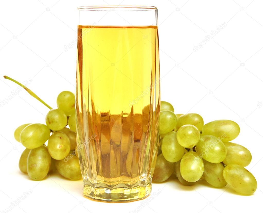 Glass with grapes juice — Stock Photo © inxti74 #4084187