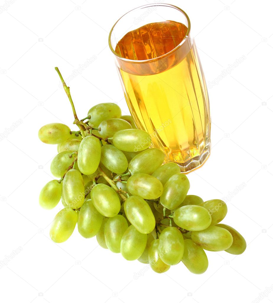 Glass with grapes juice — Stock Photo © inxti74 #4084201