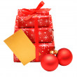 Christmas gift boxes — Stock Photo #4316268