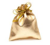 Full golden bag — Stock Photo