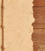 Vecchia carta con bordo della corda — Foto Stock