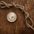 Royalty-Free Stock Photo: Rope and watch