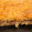 Closeup meat pie — Stock Photo