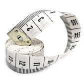 White measuring tape — Stock Photo