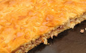 Closeup tourtière — Photo