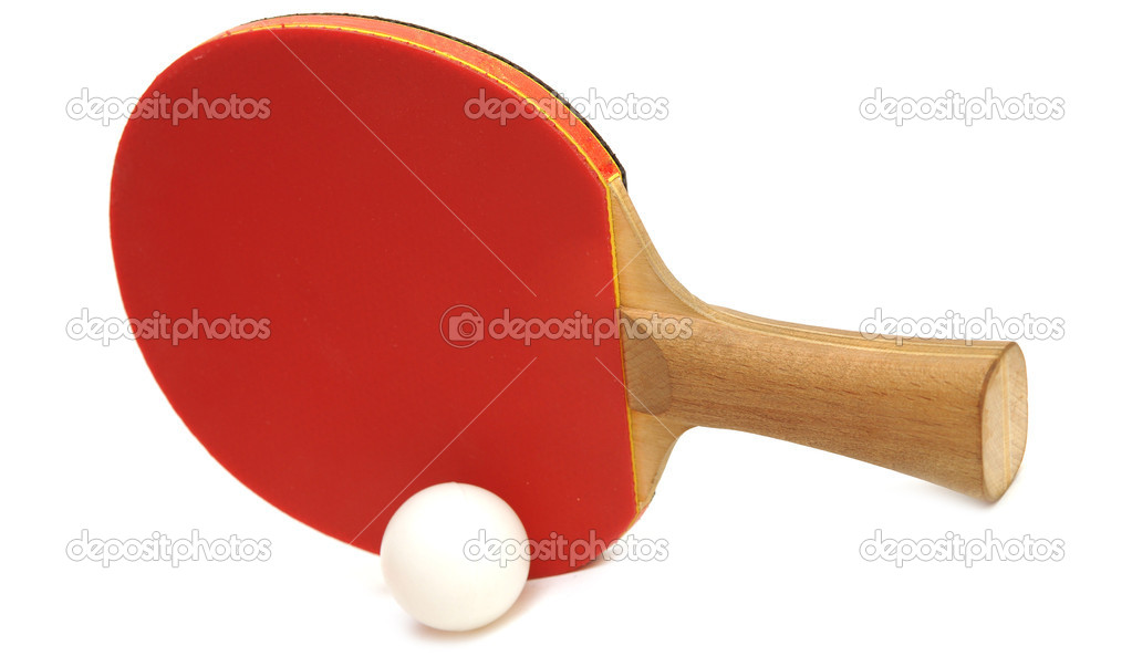 Table Tennis Racket And Ball Stock Photo 169 Inxti74 5221239