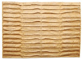 Textured cardboard with torn edges — Stock Photo