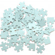 Stock Photo: Jigsaw puzzle