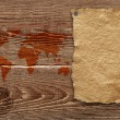 Royalty-Free Stock Photo: Old brown wood texture