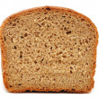 Stock Photo: Half wheat bread round