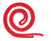 Corde sintetiche rossi — Foto Stock