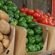 Traditional Vegetable Market - Stock Photo