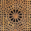 Old wooden latticework - Stock Photo