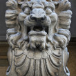 Stone statue of lion — Stock Photo #3995529