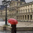 Rainy day in Paris - Stock Photo