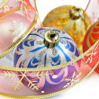 Stock Photo: colorful christmas balls