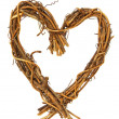 Stock Photo: Wooden heart