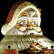 Santa claus figure. Outdoor - Stock Photo