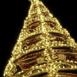 Beautiful shining abstract christmas trees — Stock Photo