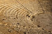 The fragment of ancient theatre Amphitheatre — Stock Photo