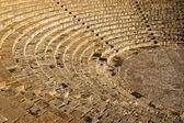 The fragment of ancient theatre Amphitheatre — Stock Photo