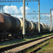 Transports tanks oil — Stock Photo #4132816
