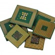 Stock Photo: Six CPU