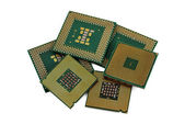 Six CPU — Stock Photo
