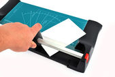 Paper cutter — Stock Photo
