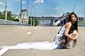 одинокий невеста 5 — Стоковое фото