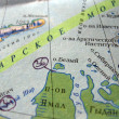 Stock Photo: Navigation Map