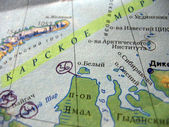 Navigation Map — Stock Photo
