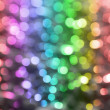 Background with colored circles with all colors of the rainbow. — Stock Photo