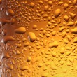 Close up shot of frosty beer glass. — Stock Photo #4060615