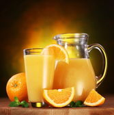 Orange juice. — Stock Photo
