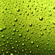 Texture water drops on the bottle of beer. — 图库照片 #4297880