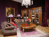 Klasik oturma odası. — Stok fotoğraf