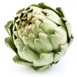 Artichoke on a white background — Stok fotoğraf