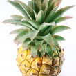 Ripe pineapple. View from top. - Stock Photo
