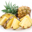Cut pineapple. - Stock Photo