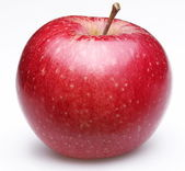 Ripe red apple. — Stock Photo