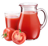 Tomato juice. — Stock Photo