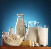 Photo of milk products. — Stock Photo