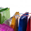 Colourful shop bags. — Stock Photo