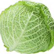 Stock Photo: Image of cabbage on white background. file contains path t