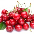Stock Photo: Image cherries on a white background