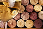 Image of wine corks — Stock Photo