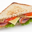 Sandwich with bacon — Stock Photo #5347915