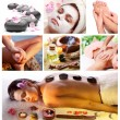 Spa treatments and massages. - 图库照片